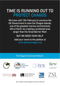 Chagos environmental campaign back